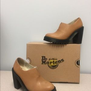 Dr  Martens Chunky Heel Shoes